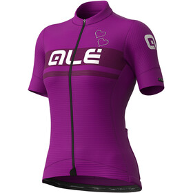 Alé Cycling PR-S Crystal Maillot Manches courtes Femme, purple